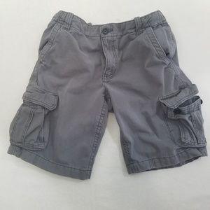 Mens aeropostle gray cargo shorts